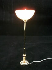 Light - Shell Torchiere Floor Lamp 2570 dollhouse miniature 1/12 scale Housework