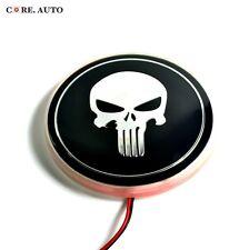 Red 82mm The Punisher Badge Background Light LED Rear For E34 E36 E38 E87 E91