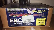 EBC Brakes GD7090 FRONT Disc Rotor SET 3GD Series Sport Slotted GTP SSEi