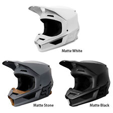 FOX V1 Matte White/Black Off-Road Helmet MX Motocross Motorcycle ATV 24370-
