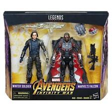 """?Marvel Legends Series Avengers: Infinity War Winter Soldier and Falcon 6""""?"""