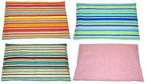 SPARE COT BED - JUNIOR - BABY PILLOWCASE - 11 COLOURS