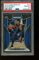 2019 Panini Prizm Draft Picks BLUE #12 Cam Reddish Hawks Rookie Card RC PSA 10