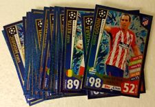 MATCH ATTAX UEFA CHAMPIONS LEAGUE 2017/18 Man of The Match CARD SET of 22