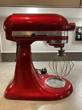 KitchenAid 5KSM156 Mixer And Attachments - Candy Apple Red