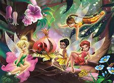 Tinker Bell Fairy Disney Girls Bedroom WALL MURAL PHOTO WALLPAPER (8- Mapa)