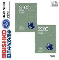 2000 Ford Escort Shop Service Repair Manual CD