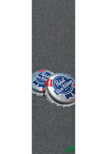 "MOB Griptape PBR Caps and Cans Big  9""x33"" Skateboard Longboard MiniCruiser"