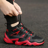 Men's Basketball Sneakers Sports Shoes Outdoor Athletic High Top Shoes Couples