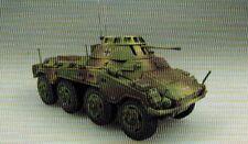 Panzerstahl 88012 Panzer Sd Kfz 234/1 4. Pz Div Danzig 1945 - 1:72