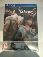 yakuza 6 the song of life edition premium collector ps4 ps playstation 4 neuf