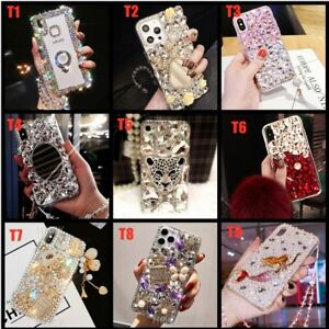 for Oneplus 8/8 Pro/8T/Nord 5G/N10/N100/9/9+ Phone Case Women Girly Bling Covers