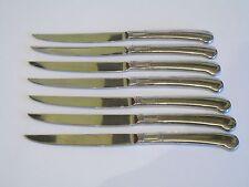 Seven Pfaltzgraff Stainless Steel Steak Dinner Knives