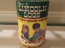 K'NEX Winter Woodlands Original Lincoln Logs Complete set w/instructions