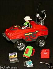 Playmobil - Aventurier + Véhicule Amphibie + Accessoires