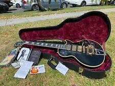 Gibson Les Paul Custom Shop Jimmy Page 3 Pickup Black Beauty #46 w/ COA