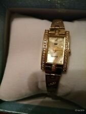 orologio d'oro 14ct yellow gold 14kt 585 Ladies watch Damenuhr Armbanduhr