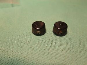 Vintage 1950's dakaware Cupcake Boutons Pour Argenté Harmony National Archtop