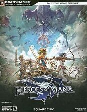 Heroes of Mana Official Strategy Guide by Enix Square, Rick Barba and Elizabeth