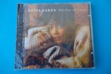 "ANITA BAKER "" RHYTHM OF LOVE "" CD ELECTRA 1994 NEW SEALED"