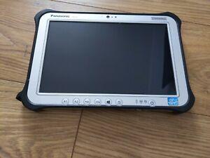 """Panasonic Toughbook Toughpad Tablet FZ G1 FZ-G1 i5 2.4GHz 128GB SSD 10"""" FHD 0102"""