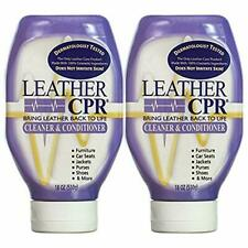 Leather CPR Cleaner & Conditioner By CPR Cleaning Products Value 2-Pack of 18...