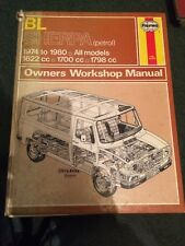 British Leyland Sherpa Petrol 1974 to 1980 Haynes Workshop Manual 463