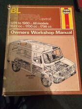 British Leyland Sherpa Petrol 1974 to 1980 Haynes Workshop Manual 463