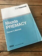 Mazda Premacy Owners Handbook/Manual 01-05