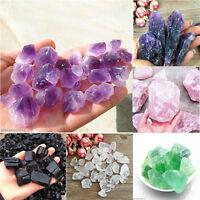Hot Sale Natural Rough Specimen Purple Amethyst Pink Point Quartz Crystal 50g/1X