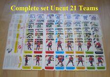 1982-83 Post Cereal NHL Hockey Mini Factory COMPLETE SET (21/21) w/ Original Box