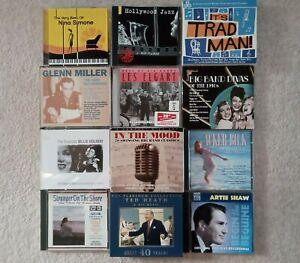CD ALBUM JOBLOT - BIG BAND / JAZZ 2 X 12 - 20 DISCS