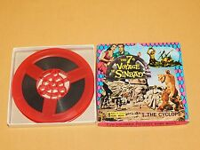 VINTAGE COLUMBIA 7th VOYAGE OF SINBAD THE CYCLOPS  8MM B/W SILENT  HOME MOVIE