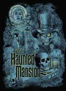 45th Anniversary Disneyland Haunted Mansion Hatbox Ghost Tshirt Tee Madame Leota
