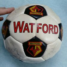 More details for watford fc signed football 2001-2002 season filippo galli and 15 others