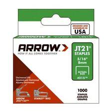 Arrow - JT21 T27 Staples 8mm ( 5/16in) Box 1000