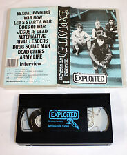 The Exploited - Sexual Favours (VHS) 5020301001631