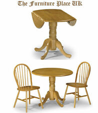 Pine Traditional 3 Piece Table & Chair Sets
