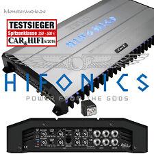 Hifonics 2400 Watt high-power Verstärker Zeus ZRX-9404 4-Kanal Auto PKW Endstufe