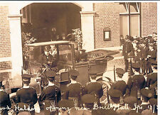 PHOTOGRAPH LORD HALDANE SECRETARY OF WAR OPENING NEW DRILL HALL IPSWICH 1911