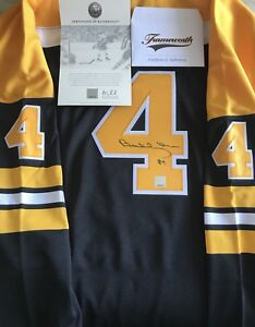 🚨 BOBBY ORR 4️⃣ 🇨🇦AUTO JERSEY CERT. OF AUTHENTICITY FROM GREAT NORTH ROAD🚨