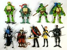 TMNT 2007 MOVIE LOT OF 9 FIGURES PLAYMATES