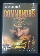 Commandos 2: Men of Courage (PlayStation 2, PS2 2002) RARE SEALED! Near Mint!
