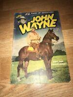 JOHN WAYNE ~ ADVENTURE COMICS ~ #7 ~ 1950 ~ 52 Pages