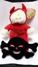 "Halloween Sugar Loaf Toys ""I'm ur lil' Devil"" Bear Plush 13"" New With Tags 2013"