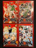Nora 3, 4, 6, 7 Manga Viz Shonen Jump English Action