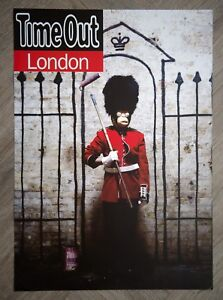 Banksy Time Out London Poster A2