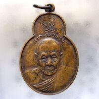 Genuine Thai Amulet Pendant Buddha Phra LP. Phring Wealth Talismans Life Protect