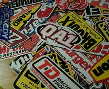 Lot of 10+ NASCAR Racing Car Decals Stickers Hot Rod Rat Chevy Mopar Ford NHRA