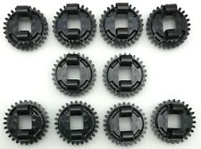 Lego 10 New Black Technic Turntable Small Top Pieces